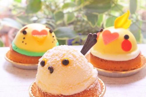 ことりカフェ表参道の11月のケーキをご紹介♪