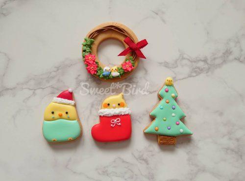 クリスマス アイシングクッキー教室