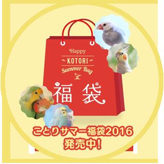 鳥さん別「ことりサマー福袋2016モフモフ年間フリーパス付♪」